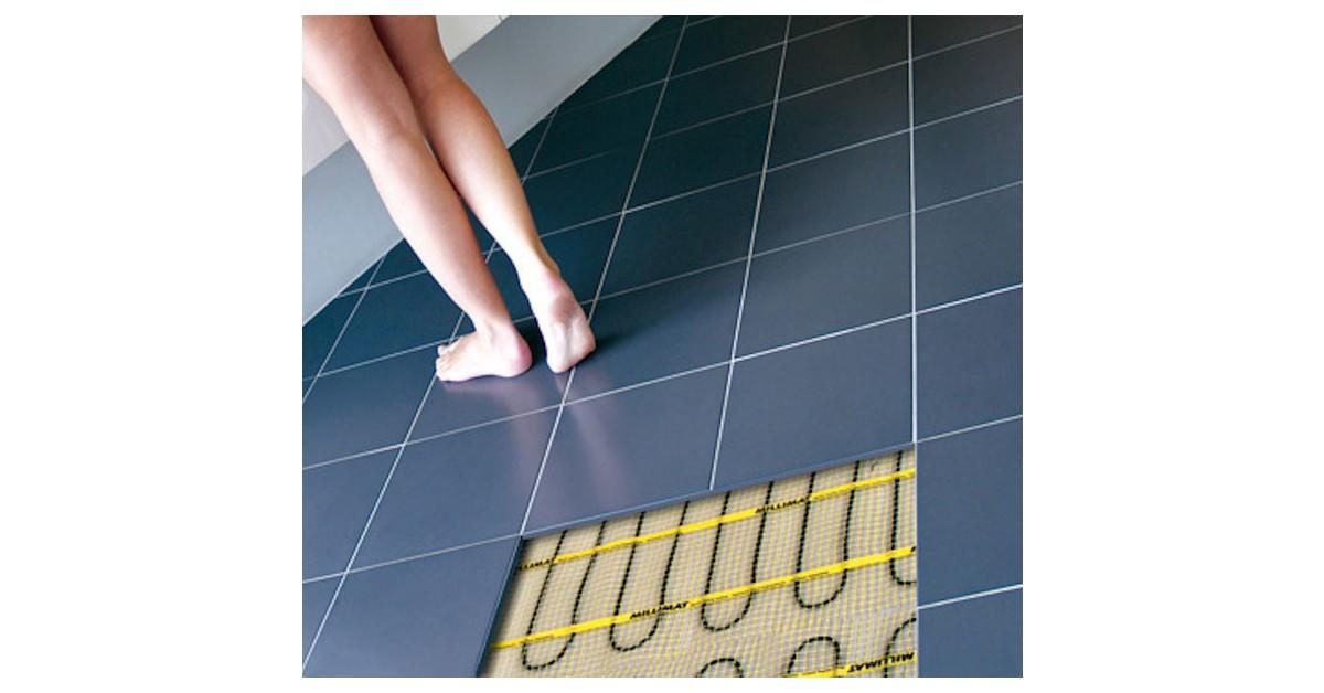 Plaatsing van tegels op verwarmde vloer niet altijd een koud kunstje keramische tegel - Carrousel vloer ...