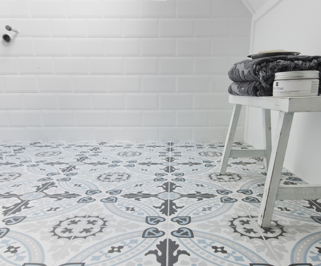 Cementtegels In Badkamer : Cementtegels breng kleur in je interieur publicaties ceramico