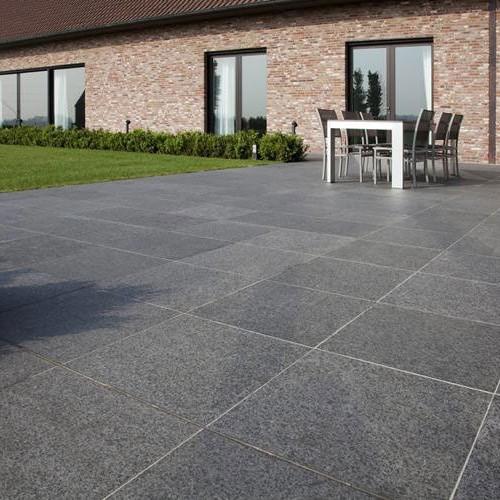 Basalt Tegels 60x60.Basalt G684 Sirocco 60x60x2 Ceramico
